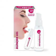 Gel Pentru Sex Oral Cu Aroma De Capsuni, 50 ml