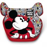 Inaltator Auto Mickey Mouse Disney, husa detasabila, 15 - 36 kg, Multicolor