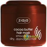 Masca Pentru Netezirea Parului Uscat Si Deteriorat Cu Unt De Cacao 200ml, Ziaja