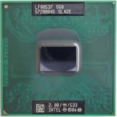 Procesor laptop folosit Intel Celeron M 550 SLA2E 2.0Ghz foto