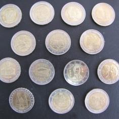 Set 14 monede 2 euro