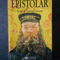 EPISTOLAR EDITAT DE GABRIEL LIICEANU
