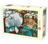 Cumpara ieftin Puzzle Nature Summer and Winter, 1000 piese