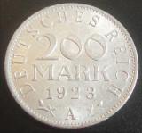 Moneda ISTORICA 200 MARCI - GERMANIA, anul 1923   *cod 3790 A.UNC - litera A