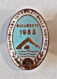 INSIGNA CLUBUL DINAMO DINAMOVIADA INTERNATIONALA INOT POLO 1983