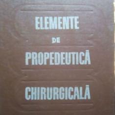 Elemente de propedeutica chirurgicala – N. Angelescu
