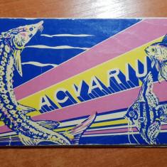 brosura acvariul din constanta din anii '60