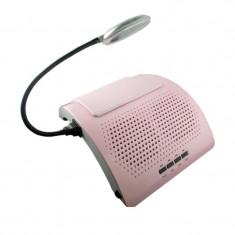 Aspirator pentru manichiura cu lampa, 40 W, 2 ventilatoare