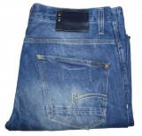 Blugi Barbati Jeans G-STAR - MARIME: W 32 / L 32 - (Talie = 88 CM), Albastru, Lungi, G-Star Raw