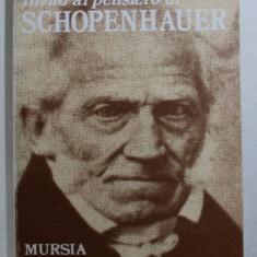 INVITO AL PENSIERO DI ARTHUR SCHOPENHAUER di GIUSEPPE INVERNIZZI , 1995