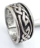Superb inel vintage din argint ,model deosebit, manufacturat !