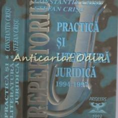 Repertoriu De Practica Si Literatura Juridica III - Constantin Crisu