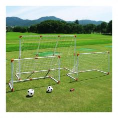 Set fotbal 2 in 1, 2 mingi incluse