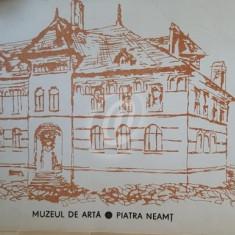 Muzeul de Arta Piatra Neamt (Pliant)