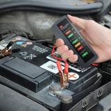 Tester Auto de Baterie si Alternator, Techstar
