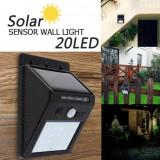 Lampa cu LED MRG solara si senzor de miscare 20LED C285