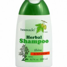 Sampon pentru par degradat cu hamei si henna, 200 ml