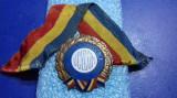 Medalion  Pentru merite deosebite in munca  UCECOM