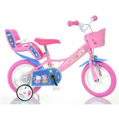 Bicicleta copii 12 Purcelusa Peppa