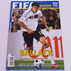 Revista-Magazin oficial fotbal-FIFA (Septembrie 2008)