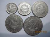 Romania (e100) - 5, 15 Bani, 1 Leu (2 pcs.), 3 Lei 1966