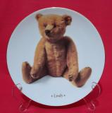 Farfurie decorativa portelan Lindy  Die Teddybar 2+1 gratis