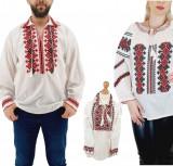 Cumpara ieftin Set Familie Traditionala 153 Camasi traditionale cu broderie