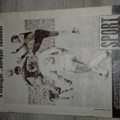 REVISTA SPORT NR.11/1981 MECIUL DINTRE UNIVERSITATEA CRAIOVA SI DINAMO BUCURESTI