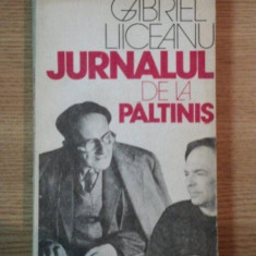 JURNALUL DE LA PALTINIS - GABRIEL LIICEANU , 1991