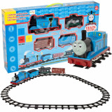 Set Trenulet Locomotiva Thomas si Cale Ferata de Rulare pentru Copii