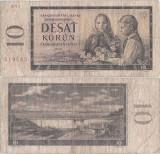1960, 10 korun ( P-88d ) - Cehoslovacia