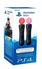 Move Motion Controller - Twin Pack PS4/PSVR foto