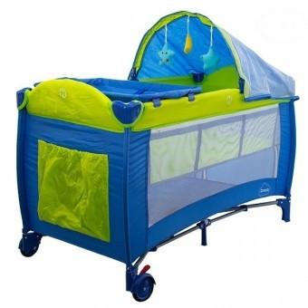 Patut pliabil Pentru Copii Dream - Albastru