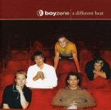CD Boyzone ‎– A Different Beat , original, holograma