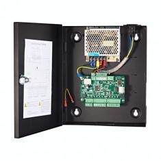 Centrala de control acces pentru o usa (bidirectionala), conexiune TCP/IP