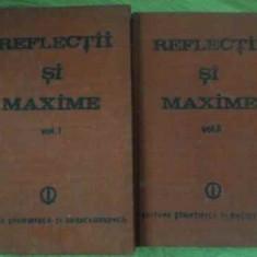 REFLECTII SI MAXIME VOL.1-2 - CONSTANTIN BADESCU