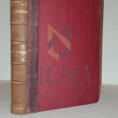 I. TANOVICEANU - CURS DE DREPT PENAL , VOL. 1 , 1912