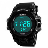 Ceas Barbatesc HONHX, curea silicon, digital watch