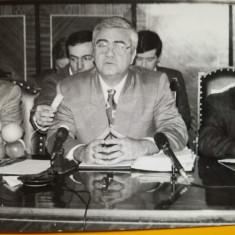 Petru Mărculescu, Ministru al Agriculturii, Dor Mărunt, foto anii 90, 14/9 cm