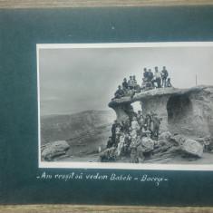 Pionieri in vizita la Babele, Bucegi// fotografie
