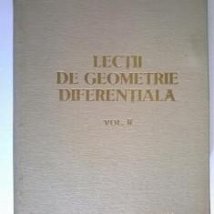 Gh. Vranceanu - Lectii de geometrie diferentiala, vol. II