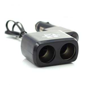 Priza dubla pt bricheta auto, cu cablu + USB 1A Best CarHome