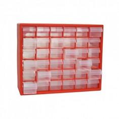 Organizator accesorii, Strend Pro SBx3045, 36 cutii, 405x305x140 mm, max 25 kG