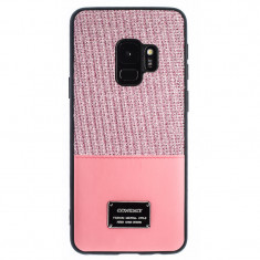 Husa Magnetica Samsung Galaxy S9 Roz Glitter CTK foto