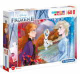Cumpara ieftin Puzzle Maxi Super Color Frozen 2, 60 piese