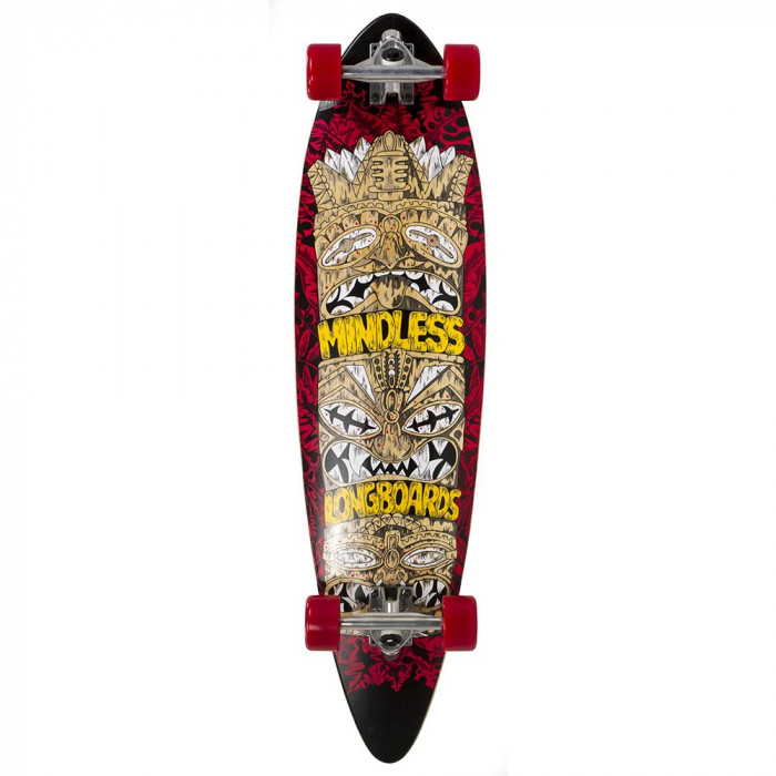 Longboard Mindless Longboards Tribal Rogue IV red 38inch/96cm