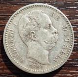 (A202) MONEDA DIN ARGINT ITALIA - 2 LIRE 1881, UMBERTO I