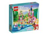 LEGO Disney Princess - Festivitatile regale ale lui Ariel, Aurora si Tiana 41162