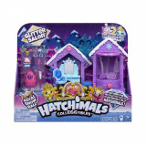 Salonul sclipitor Hatchimals Royal Snow Ball S6