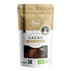 Cacao Pudra Raw Bio Obio 125gr Cod: 6426333000687